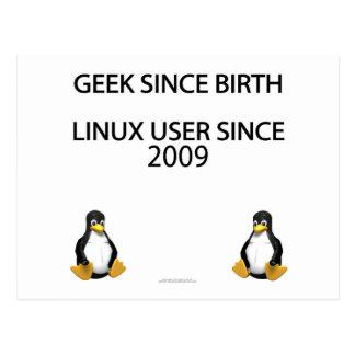 Friki desde nacimiento. Usuario de Linux desde Postal