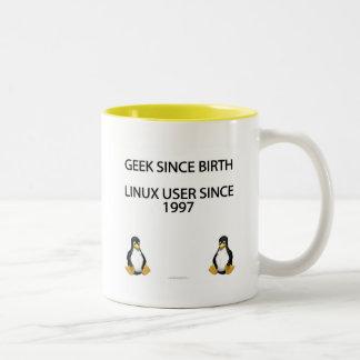 Friki desde nacimiento. Usuario de Linux desde Taza De Dos Tonos
