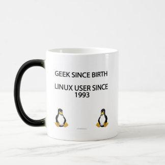 Friki desde nacimiento. Usuario de Linux desde Taza Mágica
