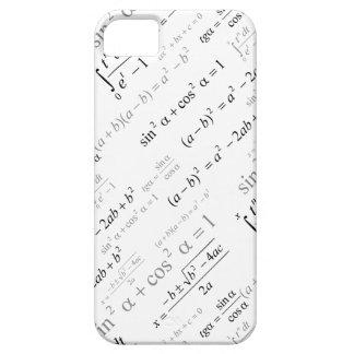 Friki divertido de la matemáticas de las fórmulas iPhone 5 fundas
