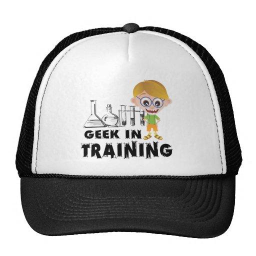 Friki en química del entrenamiento gorra