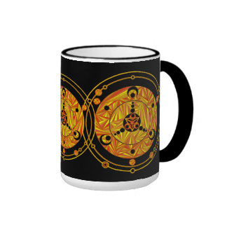 Friki extranjero Drinkware del SciFi del arte del Taza De Dos Colores