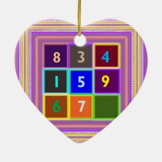 FRIKI: Juegos de concurso para los niños Adorno De Cerámica En Forma De Corazón
