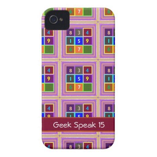 FRIKI: Juegos de concurso para los niños iPhone 4 Case-Mate Cárcasa