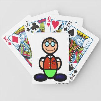 Friki (llano) barajas de cartas