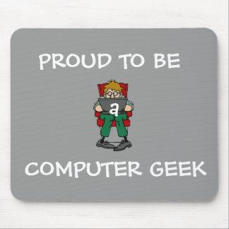 Friki Mousepad del ordenador (gris)