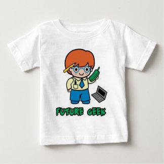 Friki (muchacho) playera de bebé