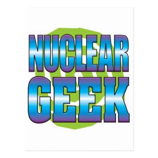 Friki nuclear v3 tarjeta postal