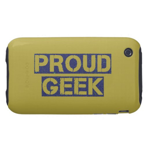 Friki orgulloso tough iPhone 3 fundas
