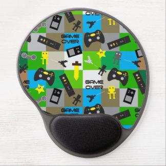 Friki personalizado del videojugador del alfombrillas con gel