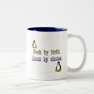 Friki por nacimiento. Linux por la opción Taza