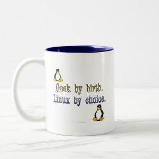 Friki por nacimiento. Linux por la opción Taza Dos Tonos
