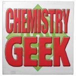 Friki v2 de la química servilleta de papel