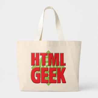 Friki v2 del HTML Bolsa De Mano