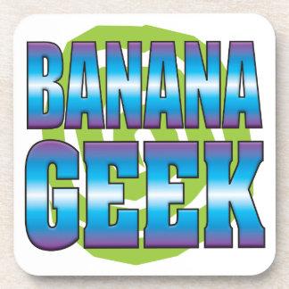 Friki v3 del plátano posavasos de bebidas