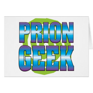 Friki v3 del prión tarjeta de felicitación