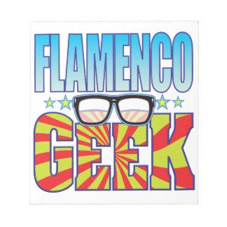 Friki v4 del flamenco libretas para notas
