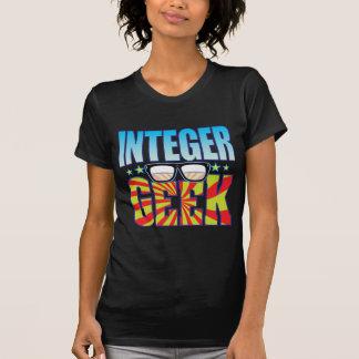 Friki v4 del número entero camiseta