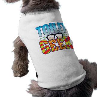 Friki v4 del retrete camisetas mascota