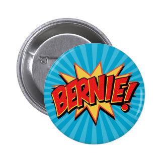 Frikis 4 Bernie de los tebeos Pin Redondo De 2 Pulgadas