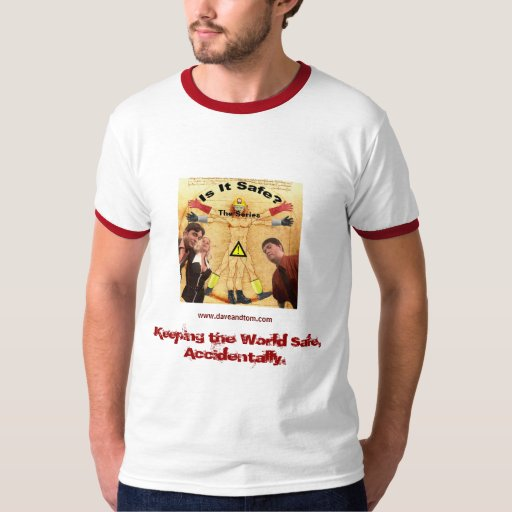 Frikis de la seguridad: Camiseta del molde de SVI Playera