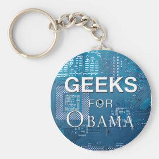 Frikis para el llavero de Obama