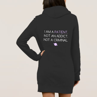 Frill-Ability/PatientsNotAddicts Hoodie Dress