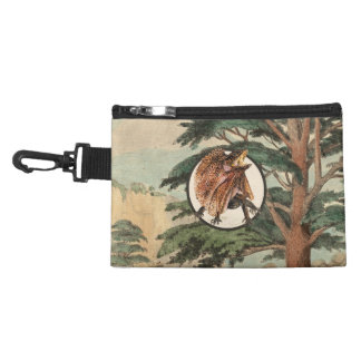 Frilled Lizard In Natural Habitat Illustration Accessories Bags