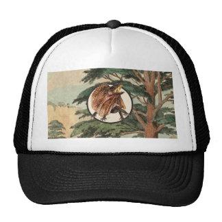 Frilled Lizard In Natural Habitat Illustration Trucker Hat