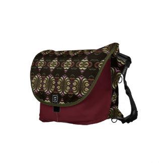 Frilled Messenger Bag
