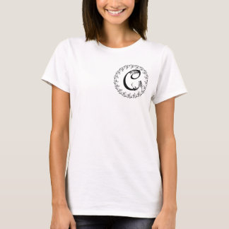 Frilly C Monogram T-Shirt