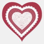 Frilly, Fancy Valentine Martzkin Sticker Sheet