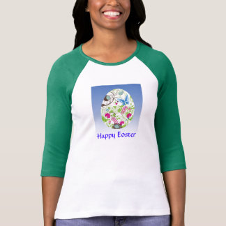 Frilly Florals Eoster Egg Shirts