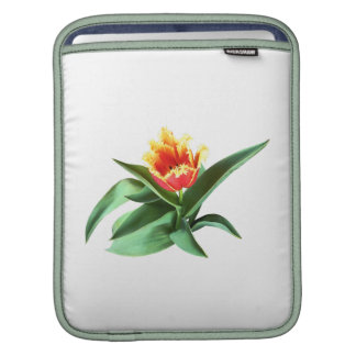 Frilly Orange Tulip iPad Sleeves