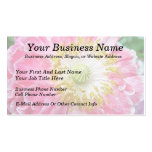 Frilly Pink Poppy Double-Sided Standard Business Cards (Pack Of 100)