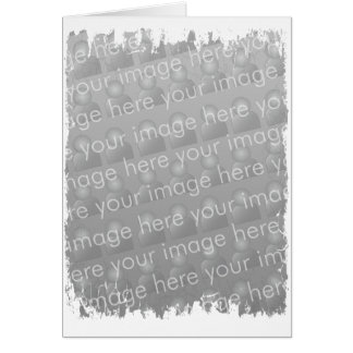 Fringe Border 3 - Portrait Greeting Card