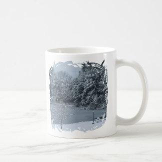 Fringe Border Design - 2-sided - Customized Coffee Mugs