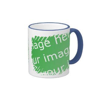 Fringe Border Design - 2-sided Ringer Coffee Mug
