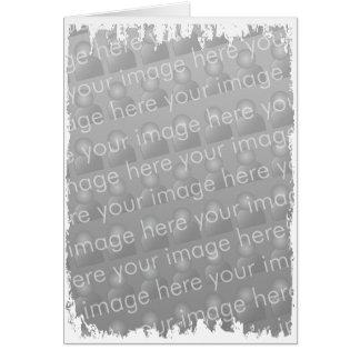Fringe Border - Portrait Greeting Card