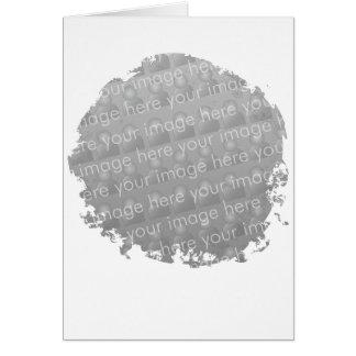 Fringe Circle Card Design