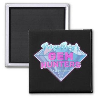 Fringe Fairy's Gem Hunters 2 Inch Square Magnet