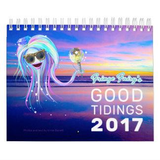 Fringe Fairy's Good Tidings 2017 Calendar