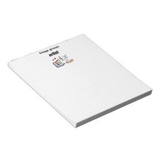 fringe group: artist notepad