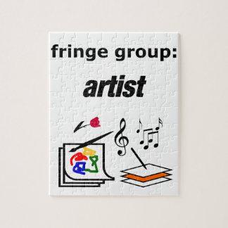 fringe group: artist puzzle