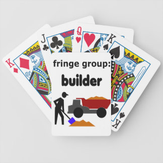 fringe group: builder bicycle playing cards