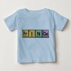 Baby Fine Jersey T-Shirt with Fringe design
