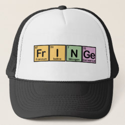 Trucker Hat with Fringe design