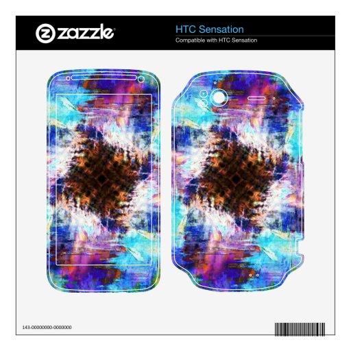 Frío como hielo calcomanías para HTC sensation