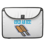 Frío como hielo fundas para macbook pro