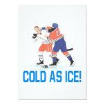 Frío como hielo invitación 12,7 x 17,8 cm